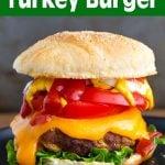 Air Fryer Turkey Burgers