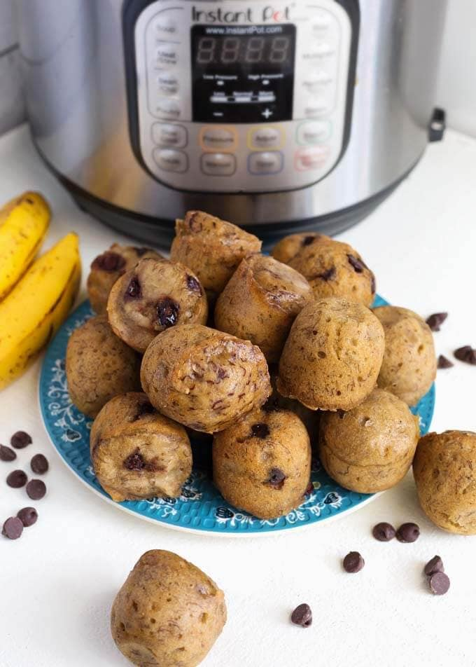 Instant Pot Banana Bread Bites