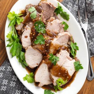Instant Pot Balsamic Pork Loin Roast