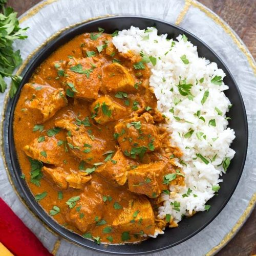 Slow Cooker Indian Butter Chicken Simply Happy Foodie