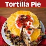 Instant Pot Veggie Tortilla Pie
