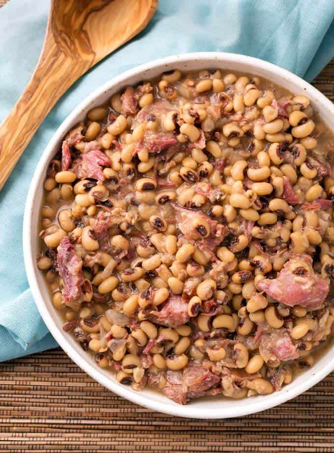 Southern Instant Pot Black Eyed Peas