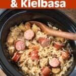 Slow Cooker Sauerkraut and Kielbasa
