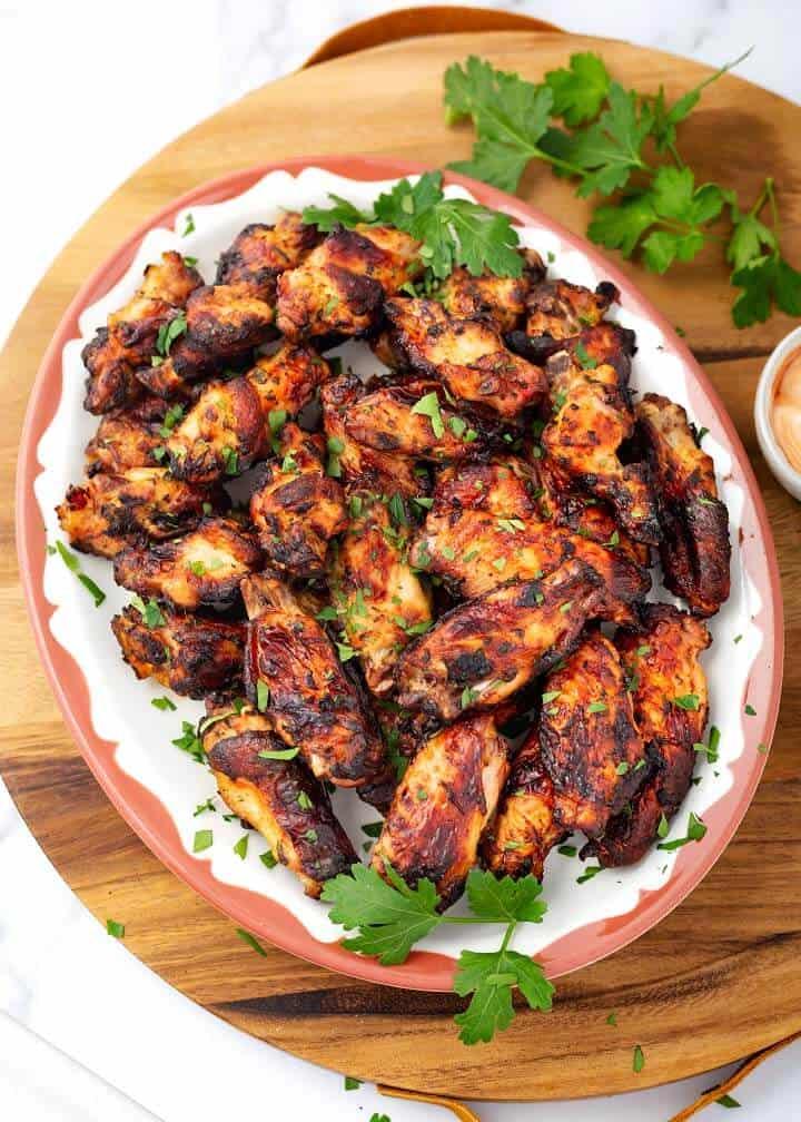 Air Fryer Chicken Wings Simply Happy Foodie