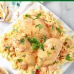 Instant Pot Creamy Cajun Chicken Breasts