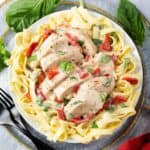 pressure cooker Creamy Italian Chicken Breasts