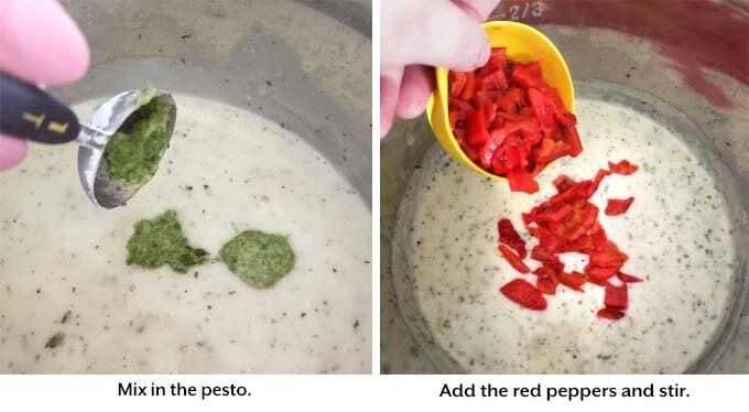 making Creamy Chicken Breasts