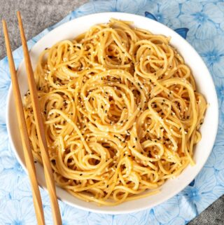 Instant Pot Garlic Noodles