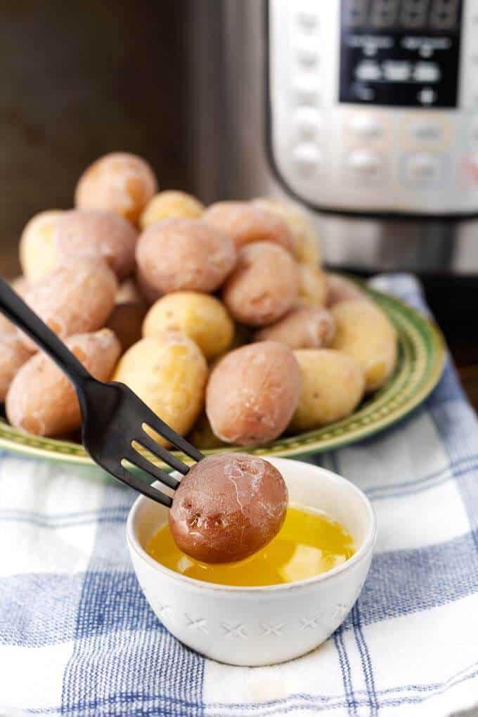 Instant Pot Syracuse Salt Potatoes