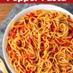 Instant Pot Roasted Red Pepper Pasta