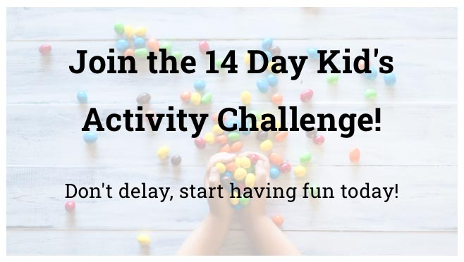 image for joining the 14 day kid's activity challenge