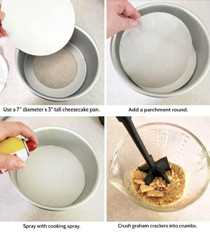 adding ingredients to Sweet Potato Pie
