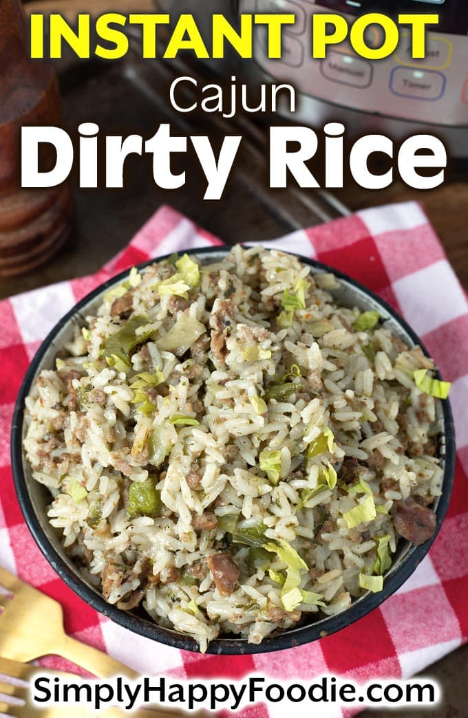 Instant Pot Dirty Rice pin
