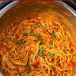 Instant Pot Taco Spaghetti pin